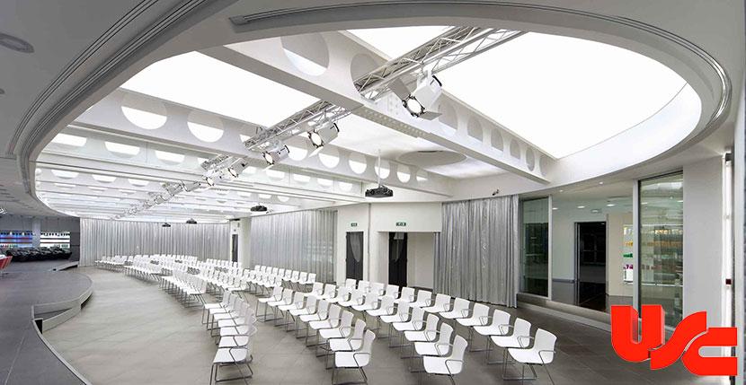 Dekoratif gergi tavan aydınlatma çözümleri